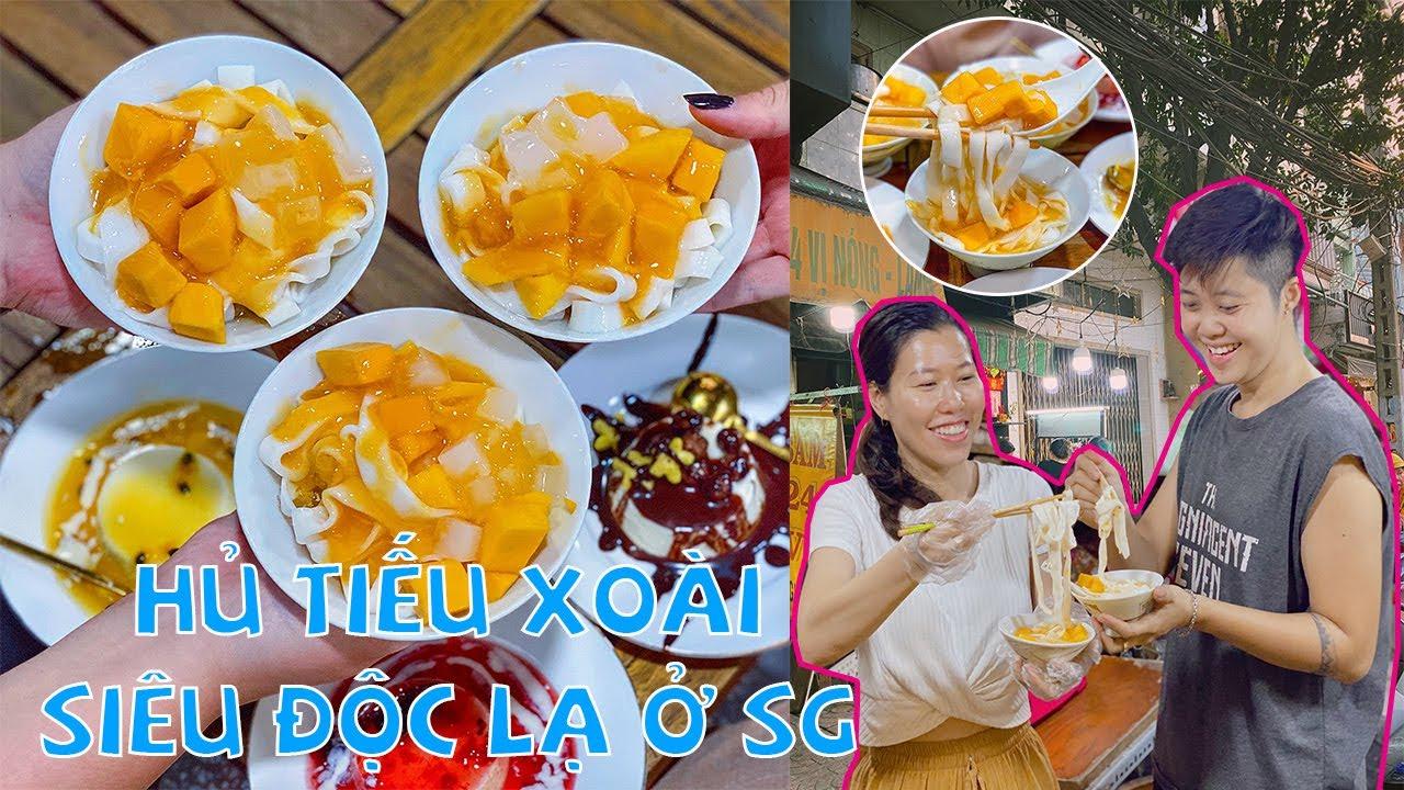 HỦ TIẾU XOÀI siêu mới lạ & cực hút khách ở Sài Gòn | Địa điểm ăn uống
