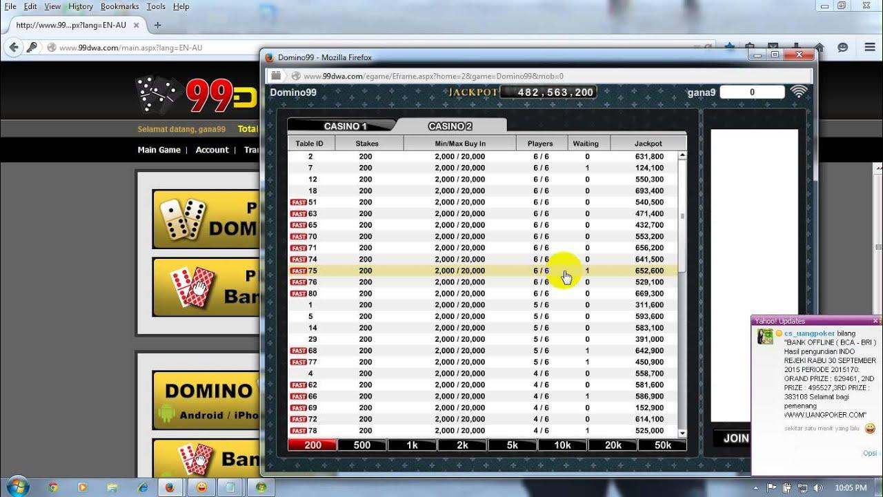 99DEWA Agen Poker Online Terpercaya - YouTube