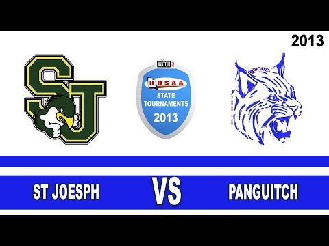 C#2 2013 State 1A Volleyball Tournament: St. Joseph vs Panguitch High School