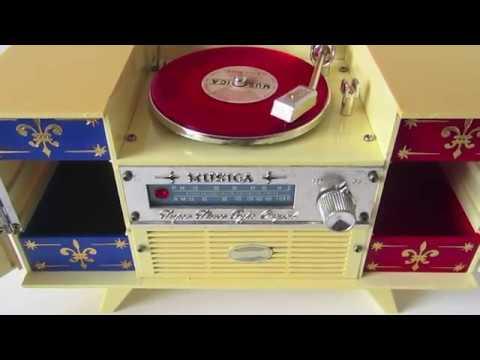 Vintage Musica jewellery Box   Large