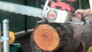Chainsaw Guy Log Testing Stihl Chainsaw Avi
