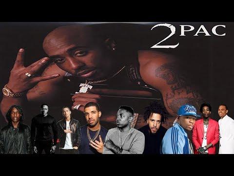 Celebrities Talk About Tupac Shakur Drake, Eminem, Kendrick Lamar, J Cole + more