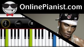 Nelly - Hey Porsche Easy Piano Tutorial & Sheet Music