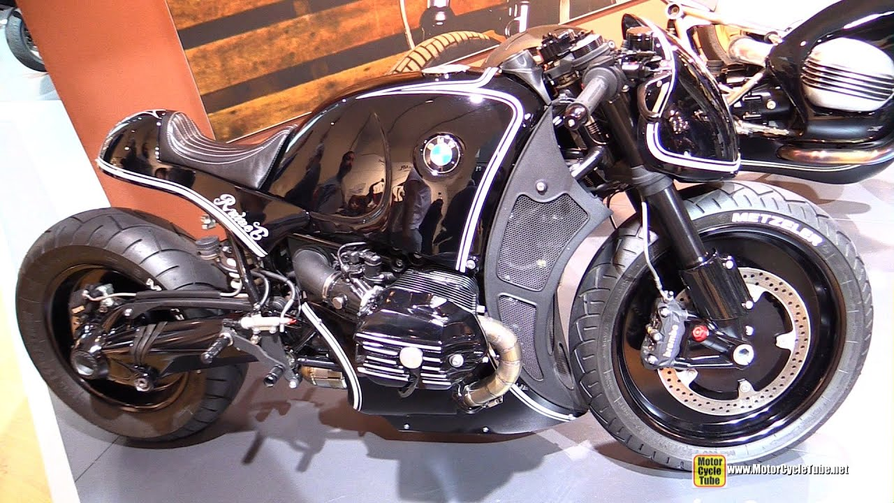 Bmw R Nine T Custom >> 2014 BMW R NineT Custom - The Highway Fighter by Cherry's Company - Walkaround - 2014 EICMA ...