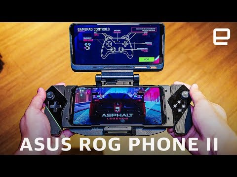 asus-rog-phone-ii-hands-on:-120hz-and-snapdragon-855-plus