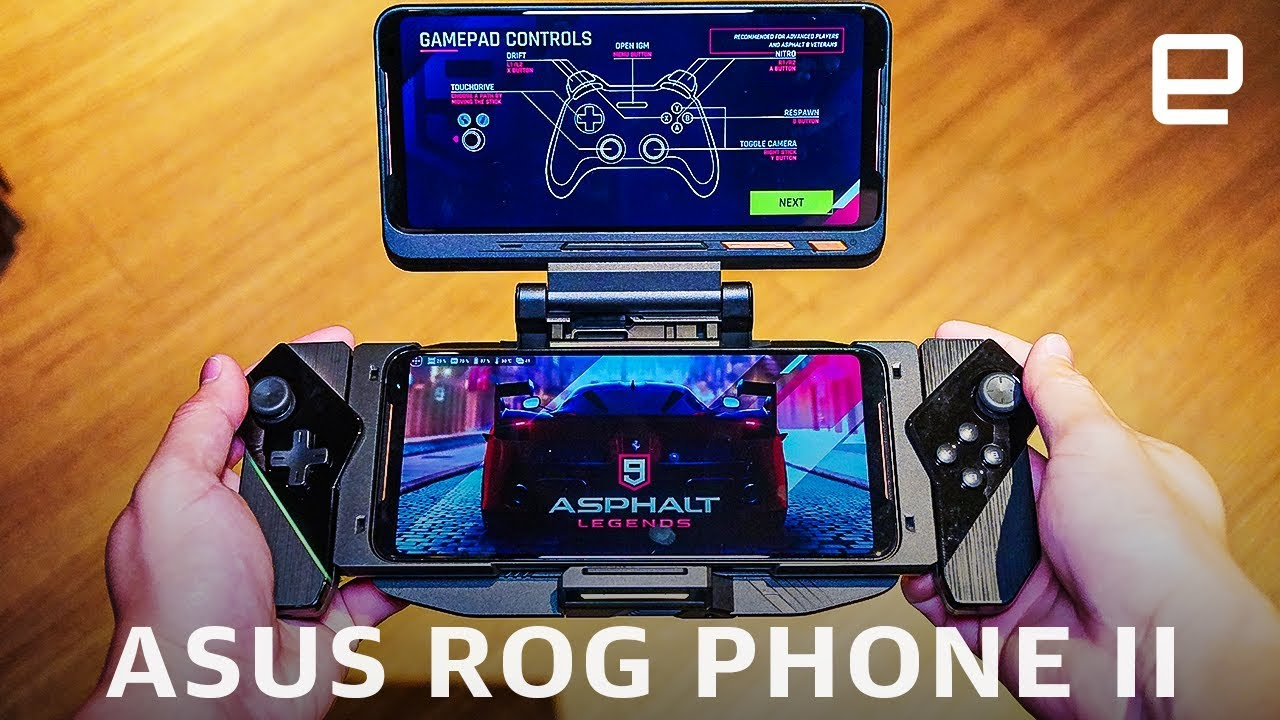 Asus Rog Phone Ii Hands On 120hz And Snapdragon 855 Plus Youtube
