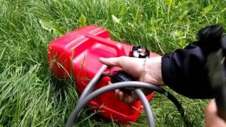 как подключить выносной топливный бак к лодочному мотору