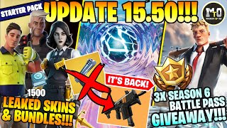 UPDATE 15.50...ΠΛΗΣΙΑΖΕΙ ΤΟ ΤΕΛΟΣ! 🌌 RAPID FIRE SMG, ΚΟΡΙΤΣΙ ΜΙΔΑΣ & 3X ΣΕΖΟΝ 6 BATTLE PASS GIVEAWAY