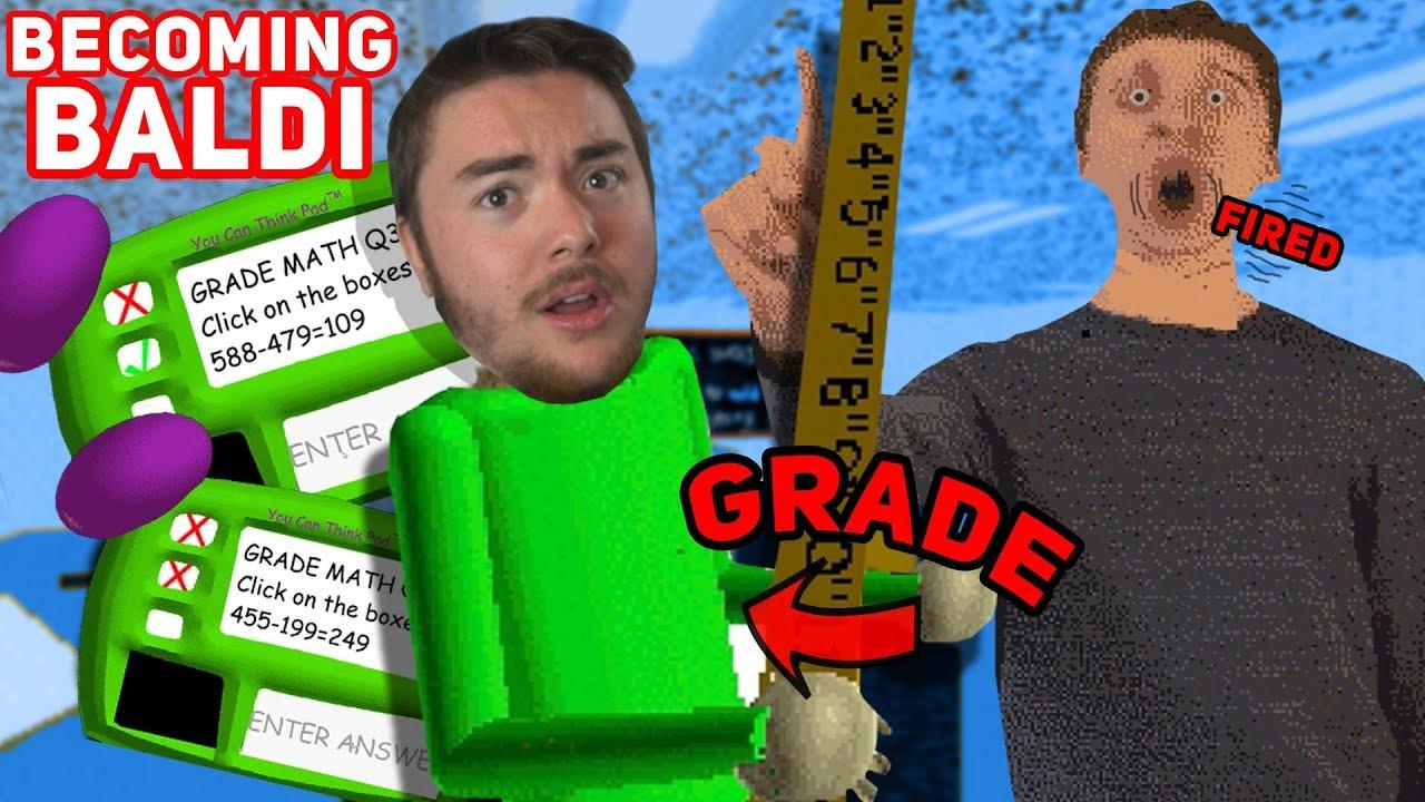 How To Gain One Grade In Roblox Baldis Basics