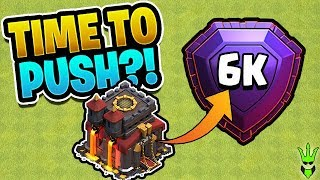 THE FINAL BUILDING UPGRADE! - Time to Push? - Clash of Clans