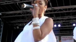 """Trina Performs """"Million Dollar Girl"""" At Calle Ocho [KidduNot.com]"""