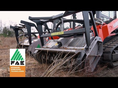 FAE Forestry Mulchers & Land Clearing Equipment DML SSL 150 VT -Review By Clint Walters | WC Tractor