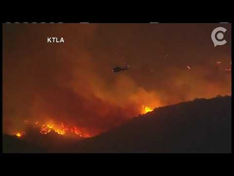 Southern California fire | Tuesday, 5 December 2017