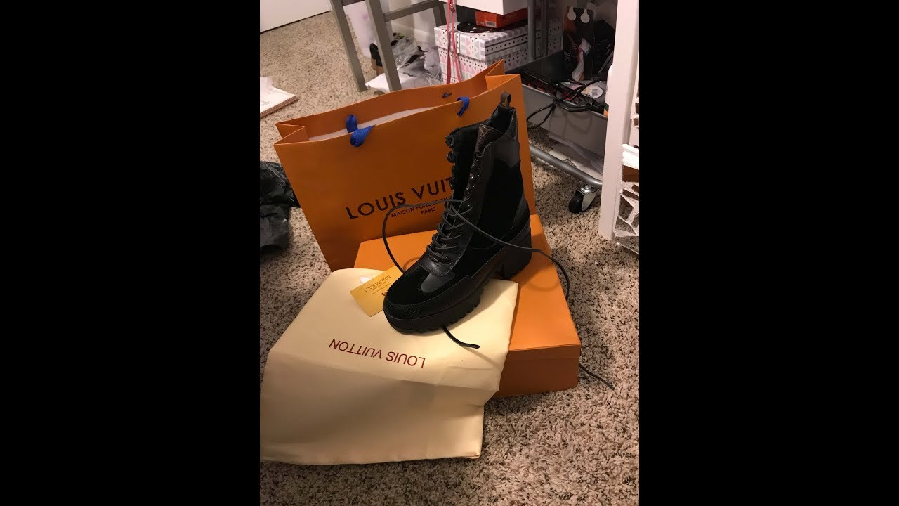 d56d405ca244 Louis Vuitton Laureate Platform Dessert Boot