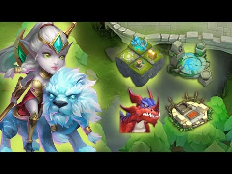 Castle Clash: Lady Leo Im Test Arena/Wellen/LR