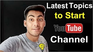 15 Youtube Channel Ideas | New Topic to Start Youtube Channel