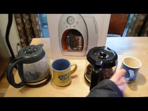 Michael Graves Design 12 Cup Coffee Maker Review