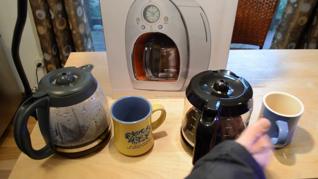 Michael Graves Design 12 Cup Coffee Maker Review Youtube