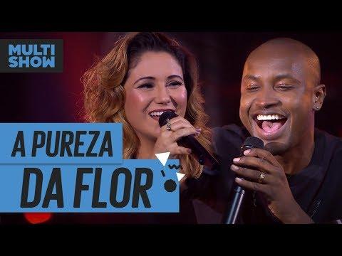 A Pureza da Flor  Thiaguinho + Maria Rita  Música Boa Ao Vivo  Música Multishow