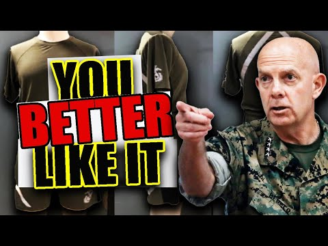 U.S. Marines Get a NEW Uniform Change NOBODY Wants? (If It Isn't Broke DONT FIX IT!)