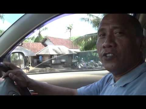 Driving to the South Part of the Island: Lombok, Indonesia