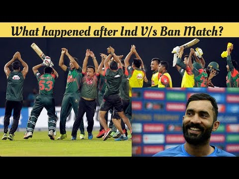 Ind Vs Ban : BANGLADESH After Losing Against INDIA | Naagin Dance | Dinesh Kartik