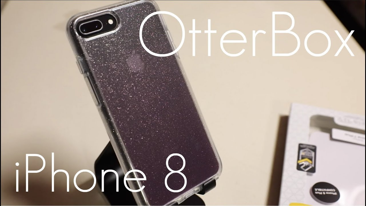 brand new 83c77 5862d OtterBox Symmetry Clear GLITTER Case - iPhone 8 / 7 PLUS - Hands on Review