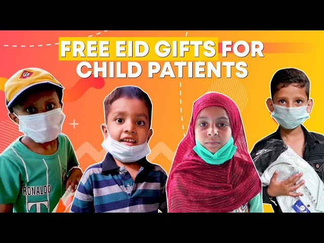 Free Eid Gifts For Child Patients By Indus Hospital