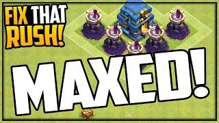 MAXED OUT- What Next? Fix That Rush - Clash of Clans Episode 53