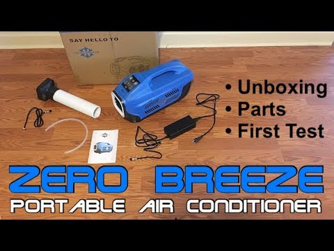 Zero Breeze Portable Air Conditioner (Part 1) - Unboxing, Parts & First Test