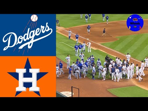 Benches Clear in First Astros-Dodgers Game Since Cheating ...