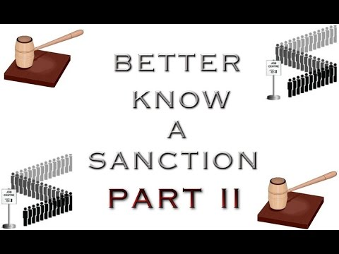 Better know a Sanction Part II
