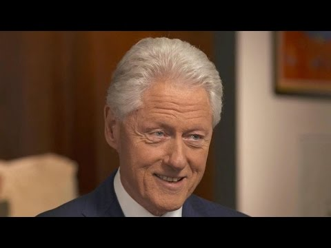 Bill Clinton on Hillary's pneumonia recovery