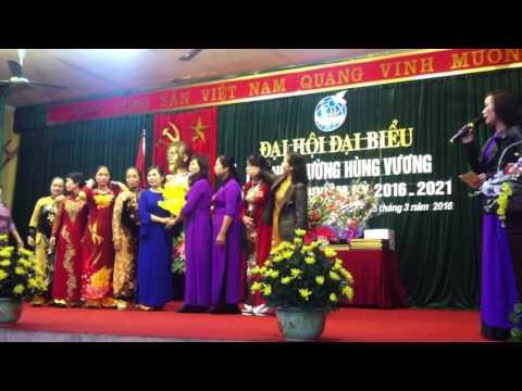 Đại hội phụ nữ phường Hùng Vương -Phúc yên 2016