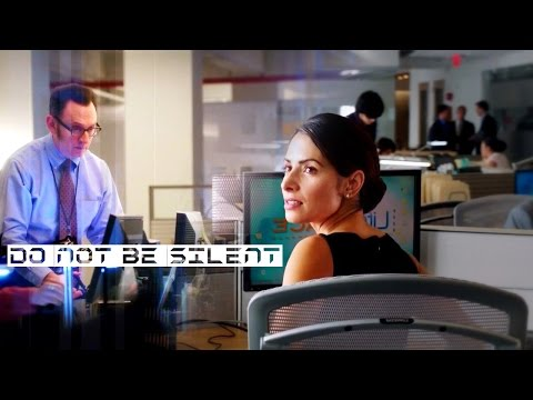 Person of interest - Harold Finch and Sameen Shaw