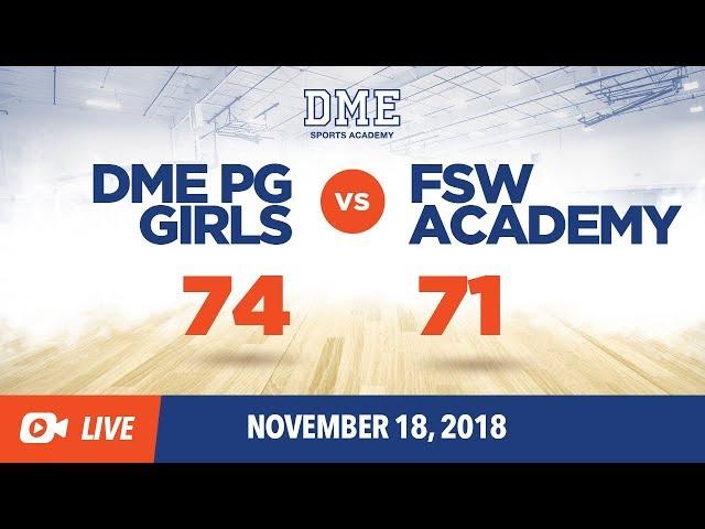 DME PG Girls vs FSW