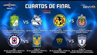 FECHAS y HORARIOS CONFIRMADOS para los CUARTOS DE FINAL en la LIGUILLA de la #LigaMX GUARDIANES 2020