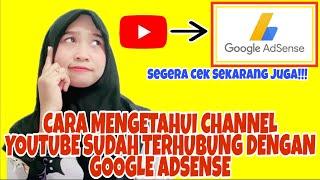 Cara mengetahui channel youtube sudah terdaftar di google adsense