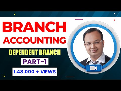 #1 | Branch Accounting | Dependent branch (stock and debtor method) | Part   1
