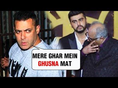 SHOCKING | Salman Khan KICKS OUT Boney Kapoor Because Of Arjun Kapoor Malaika Arora Affair