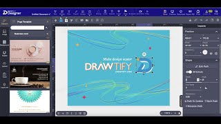 Tutorial - How to use free graphic design software Drawtify - DRAWTIFY