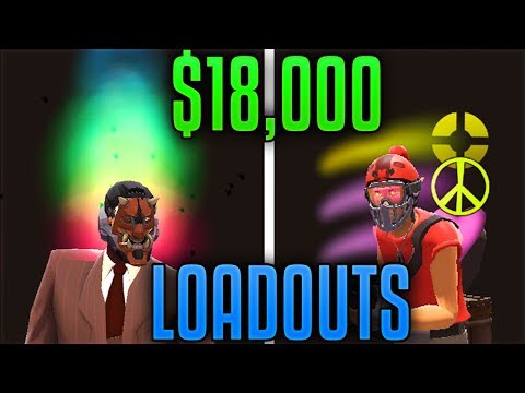 [TF2] You Will NEVER See Loadouts Like These... (Top 100 Backpack LOADOUTS)
