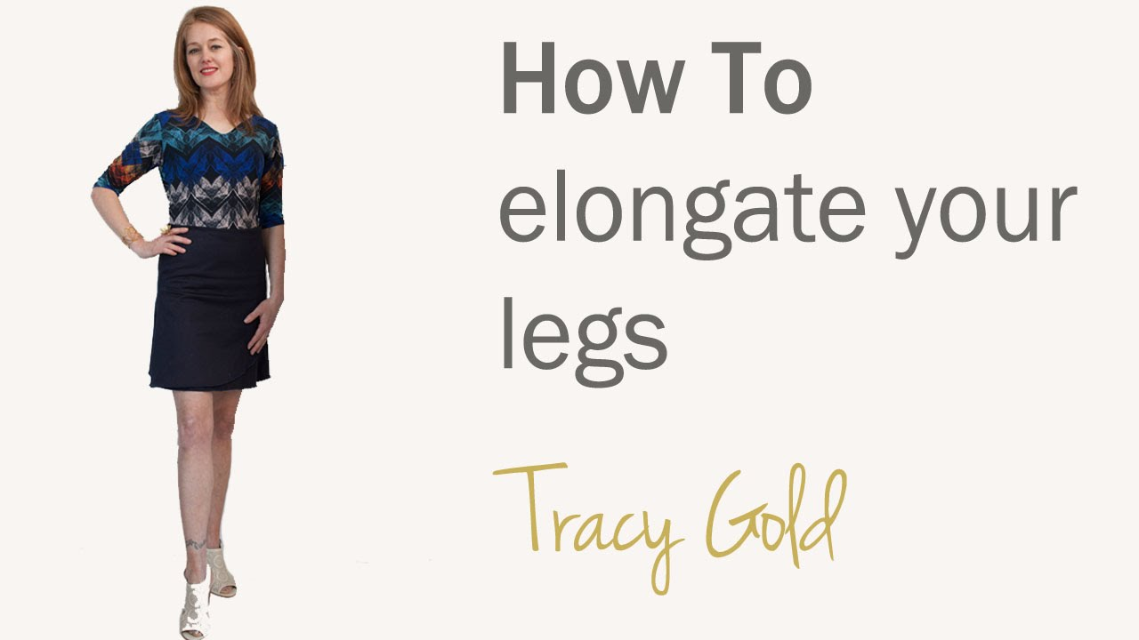 how to make your legs look skinnier