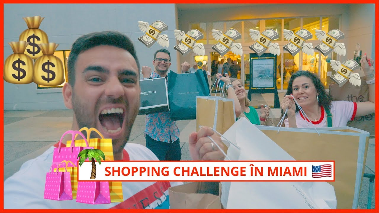 Shopping Challenge în Miami! (reduceri și prețuri incredibile)   Daily Vlog