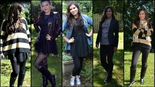Можно ли одеваться стильно недорого? 5 моих модных образов этой осени.