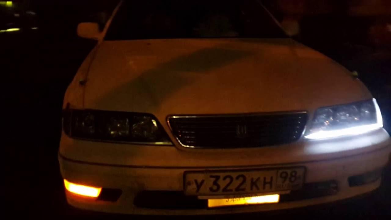 Toyota Mark II ( 90 кузов) - YouTube