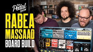 Rabea Massaad New Pedalboard Build – That Pedal Show
