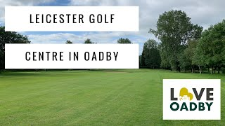 Leicester Golf Centre in Oadby with Anders Mankert