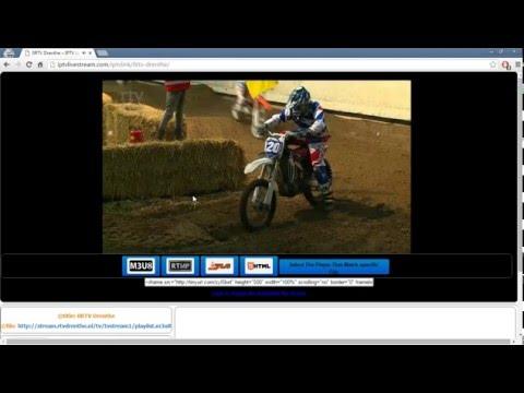 Embed IPTV on website using .m3u playlists