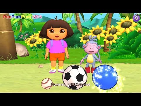 Dora the Explorer | Learn with dora : Super Bouncy Ball | PimPamPum KIDS HD